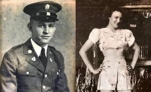 K.T. Robbins et Jeannine Ganaye, dans leur jeunesse