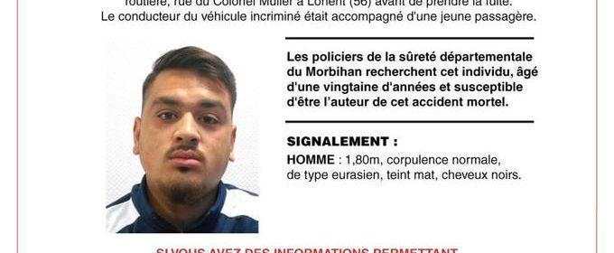 Signalement du fugitif de Lorient