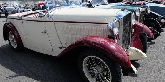 Un Salmson S4 Roadster de 1931.