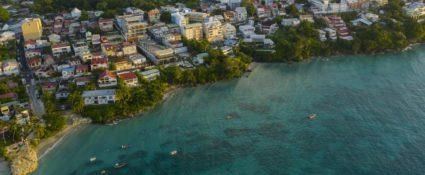Guadeloupe, Gosier.