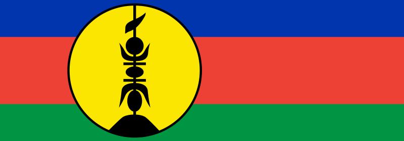 Drapeau de la Nouvelle-Calédonie.