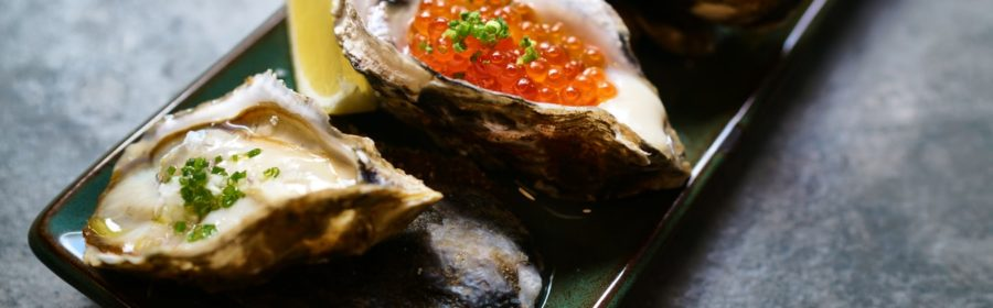 Des huîtres prêtes à être dégustées.